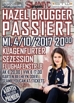SLAMYC - Hazel Brugger passiert